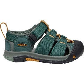 Keen Newport H2 Sandals Toddler green gables/wood thrush